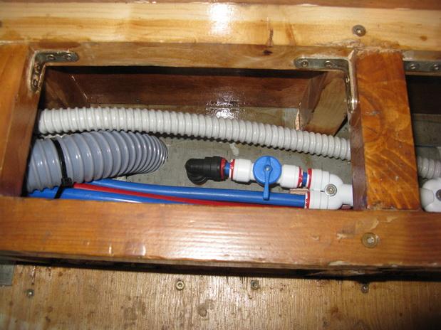 Impianto idraulico for Riduzione del rumore del tubo dell acqua
